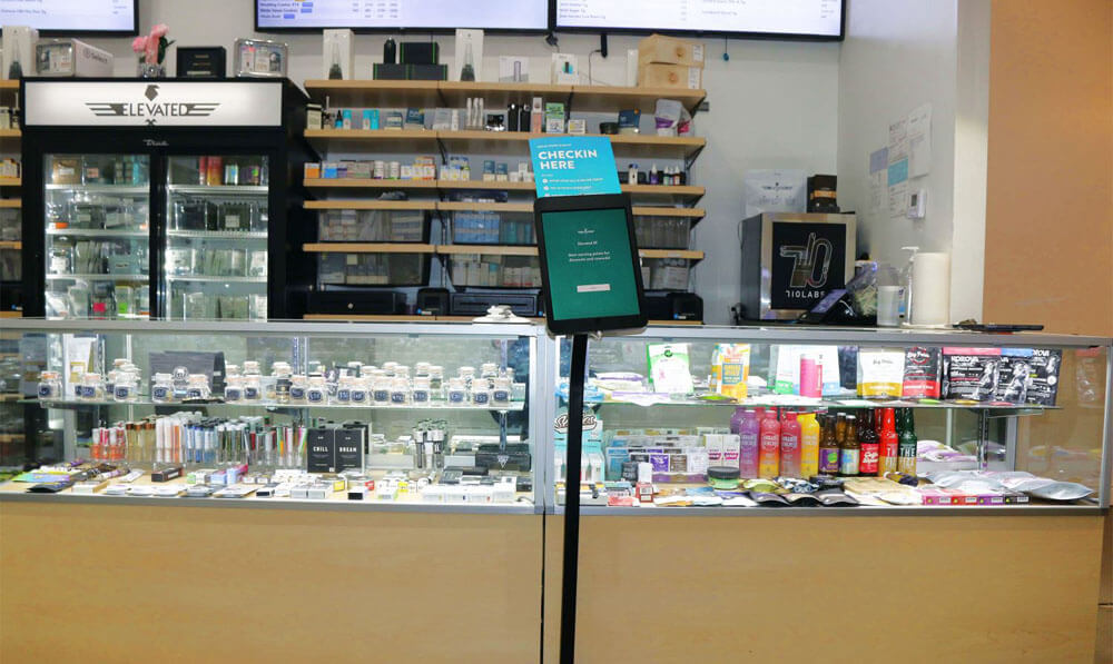 Dispensary counters